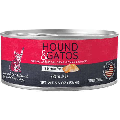 Hound & Gatos Grain Free 98% Salmon