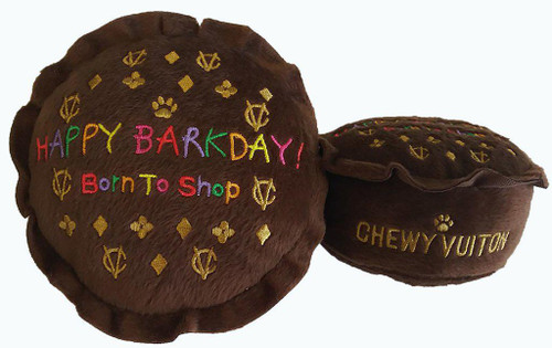 Dog Doggin Designs Chewy Vuitton Happy Barkday