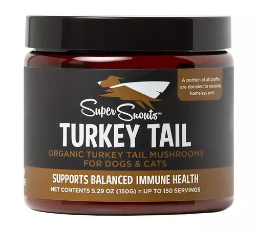SuperSnouts Turkey Tail Medicinal Mushroom Supplement
