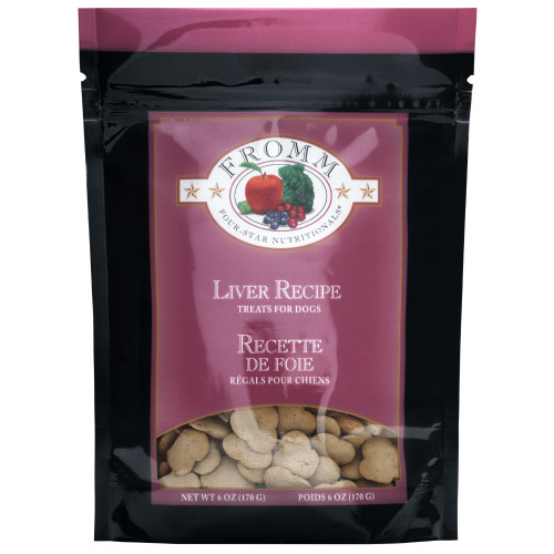 FROMM Four Star Lowfat Liver Biscuits