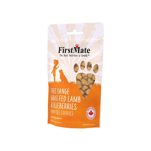 FirstMate Free-Range Grass-Fed Lamb and Blueberries Grain-Free Cookies
