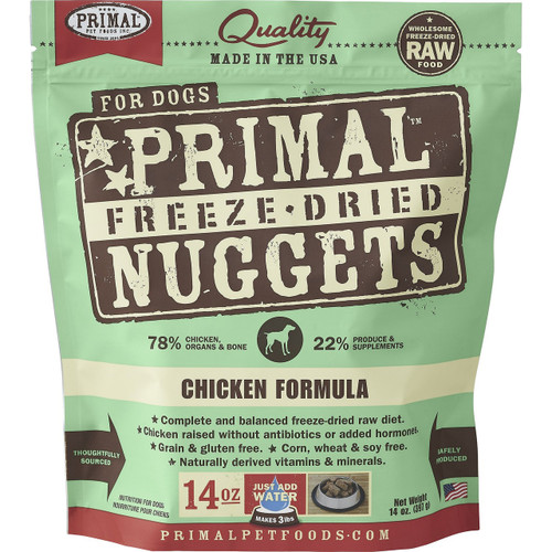 Primal Freeze Dried Chicken for Dogs