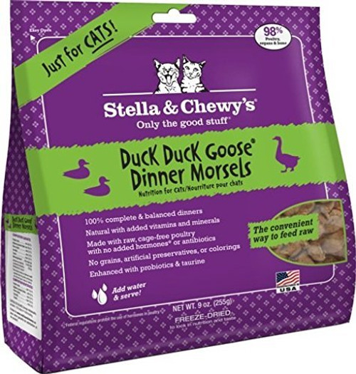 Stella & Chewy's Duck, Duck, Goose Dinner Morsels for Cats
