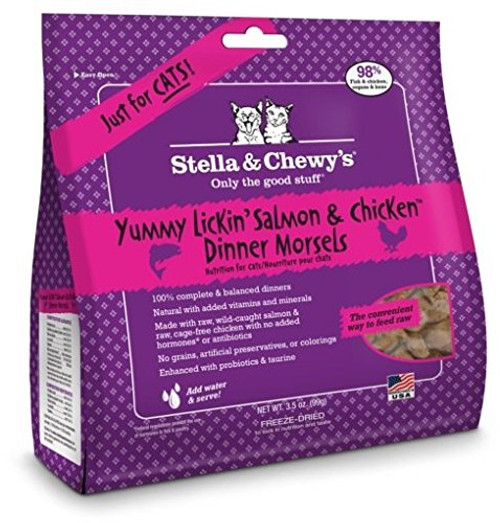 Stella & Chewy's Yummy Lickin Salmon and Chicken Dinner Morsels