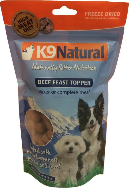 K9 Natural Beef Feast Topper