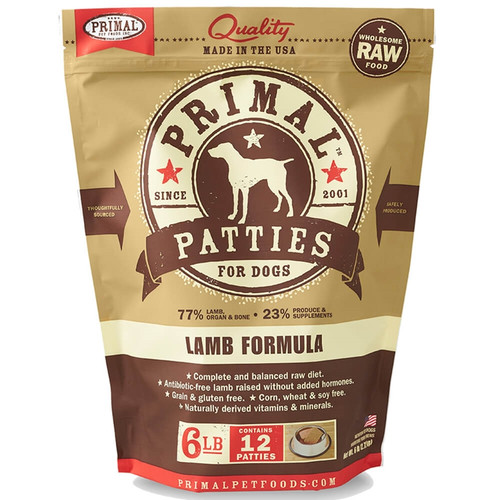 Primal Frozen Raw Nuggets Lamb Formula