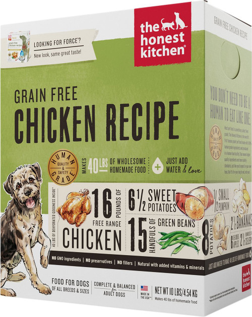 The Honest Kitchen Force Grain Free/Free Range Chicken
