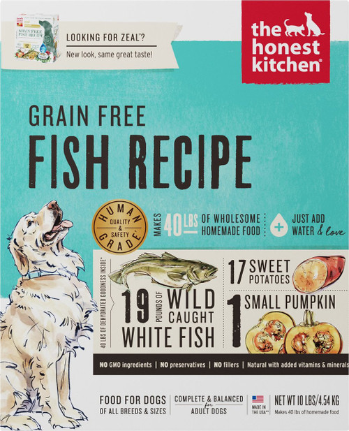 The Honest Kitchen Grain Free Fish Recipe (formerly Zeal)