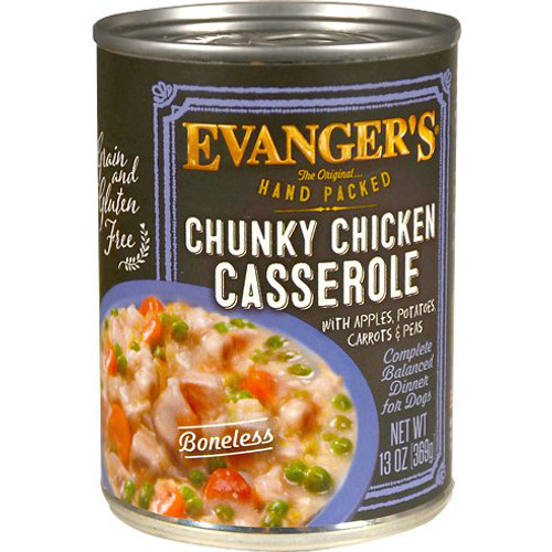 Evanger's Hand-Packed is a grain-free, meat-based canned dog food using a generous amount of named meats as its main sources of animal protein, thus earning the brand 5 stars.