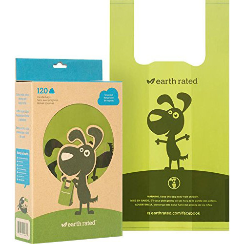 EarthRated Handle Poop Bags Unscented