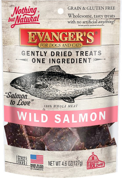 Evanger's Gently Dried Wild Salmon Snack Treats