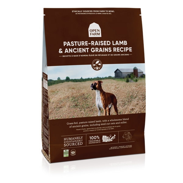 Open Farm Pasture-Raised Lamb and Ancient Grains Recipe Dry Dog Food