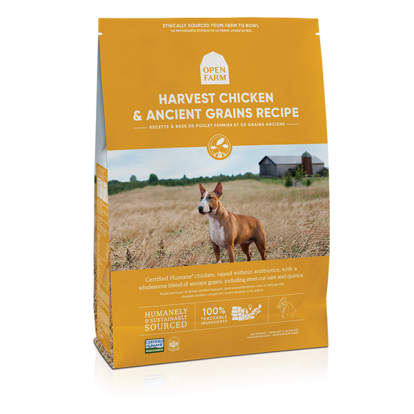 Open Farm Harvest Chicken and Ancient Grains Recipe Dry Dog Food