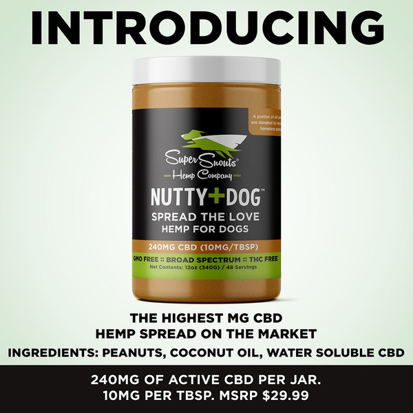 SuperSnouts Nutty Dog CBD Butter