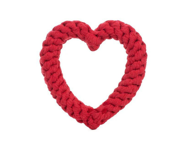 Jax & Bones Heart Rope Toy