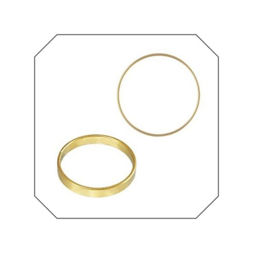 Olivia Flat Band Stacking Ring