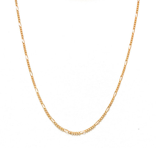 Vintage 80's Linda Gold Chain Necklace