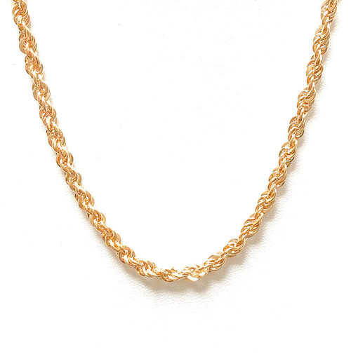 Vintage 80's Karla Gold Chain Necklace