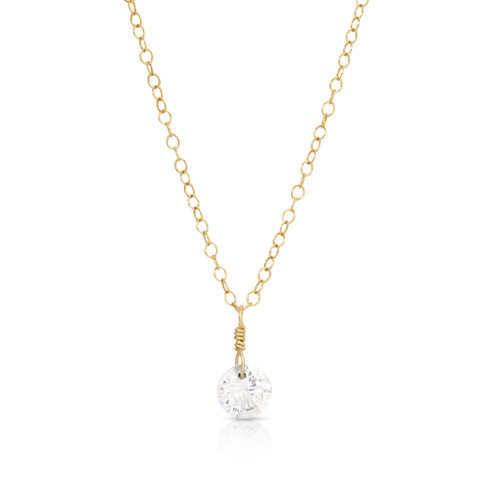 Mini Diana CZ Necklace