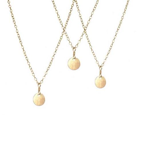 Mini Roma Coin Necklace