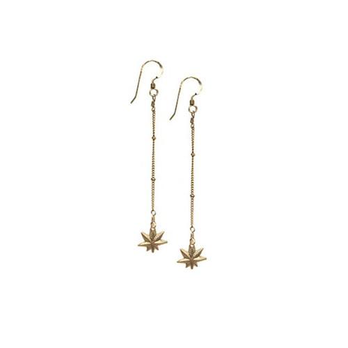 Mary Jane Gold Chain Earrings