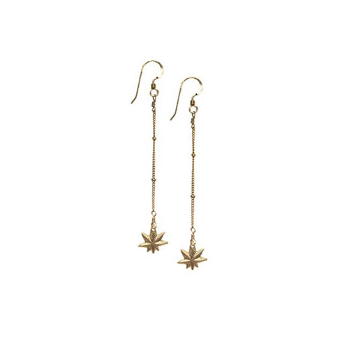 Mary Jane Gold Chain Earrings