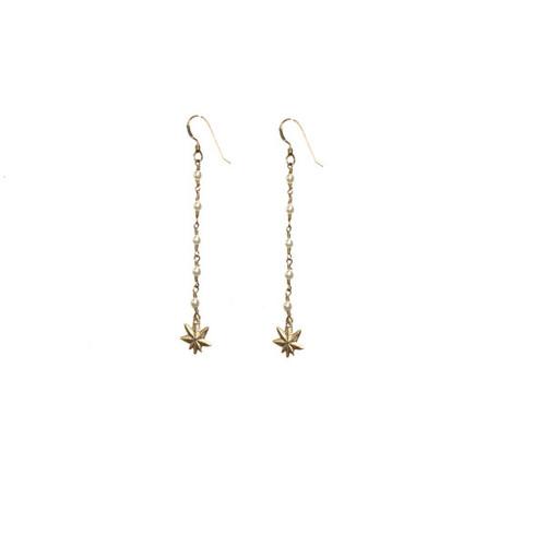 Mary Jane Petit Pearl Earrings
