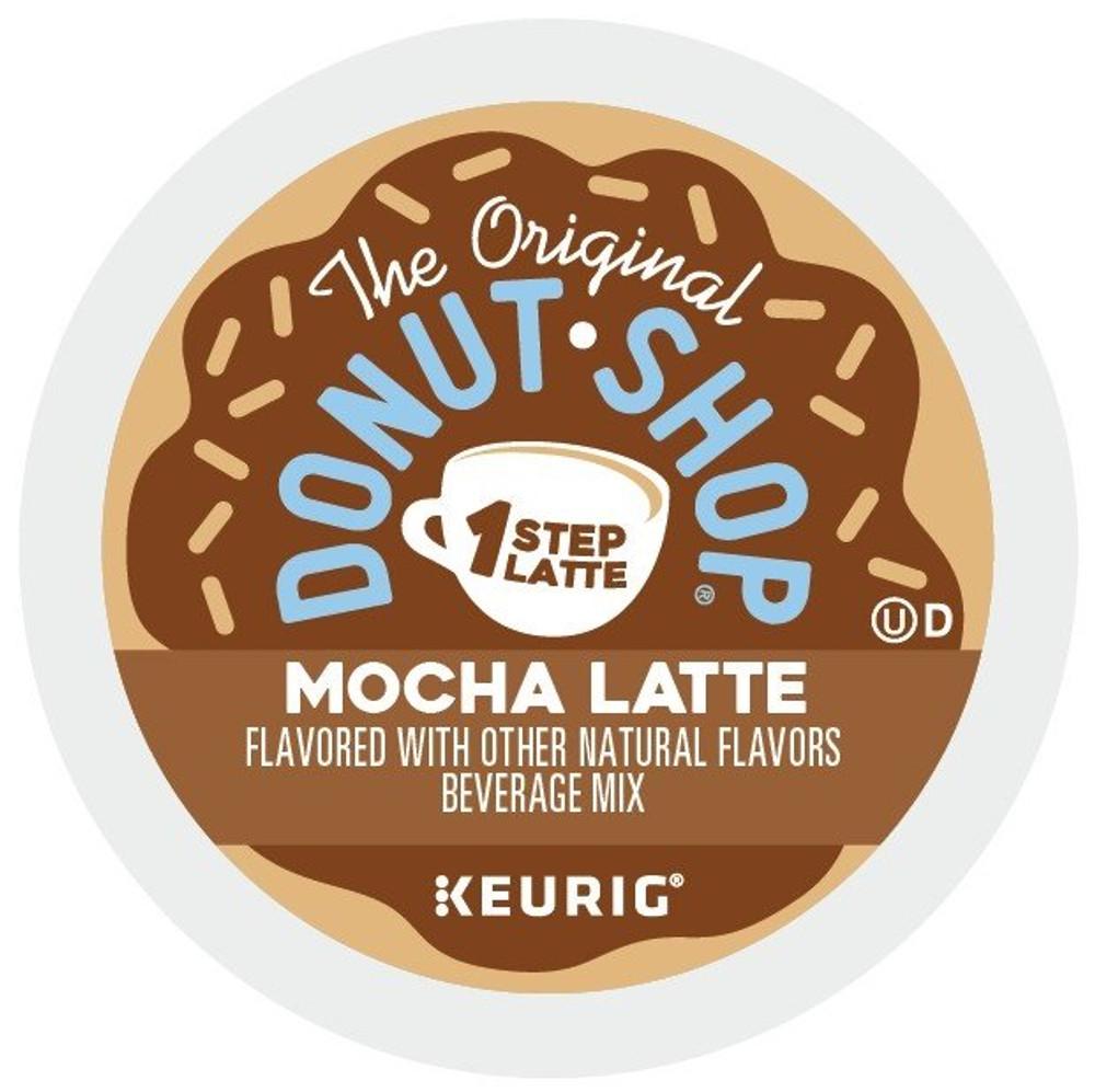 The Original Donut Shop Mocha Latte