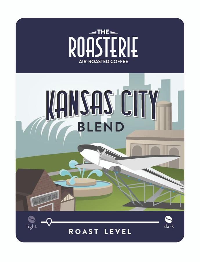 Roasterie Kansas City Blend 2.5 oz Ground