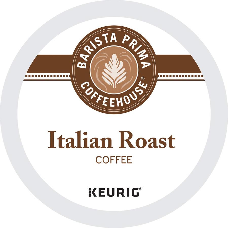 Barista Prima Coffeehouse Italian Roast Coffee K-Cups