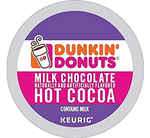 Dunkin' Donuts Milk Chocolate Hot Cocoa K-Cups