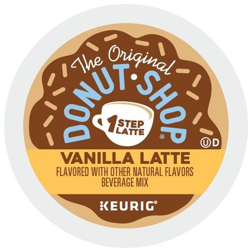 The Original Donut Shop Vanilla Latte