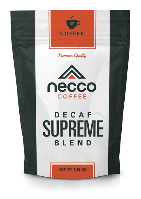 Necco DECAF Supreme Blend Ground