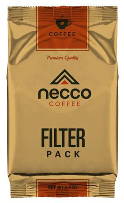 Necco 2.5 oz Filter Pack Ground