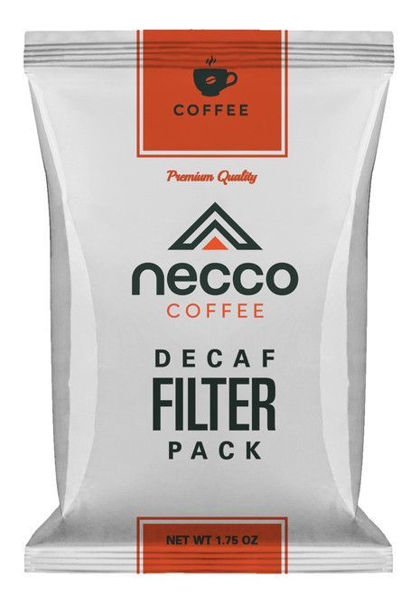 Necco DECAF 1.75 oz Filter Pack Ground