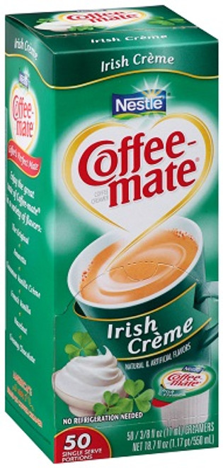 Coffee-mate Irish Liquid Cream 50ct.