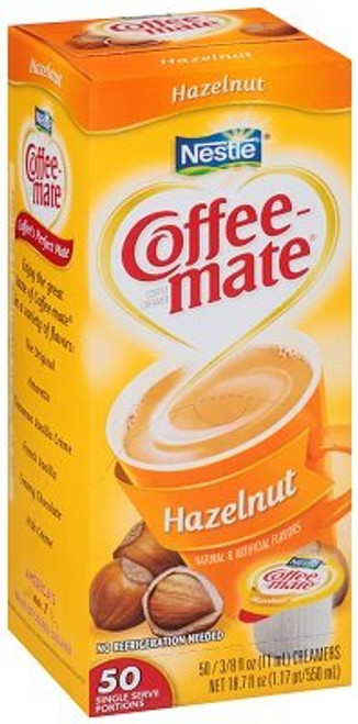 Coffee-mate Hazelnut Liquid Cream 50ct.