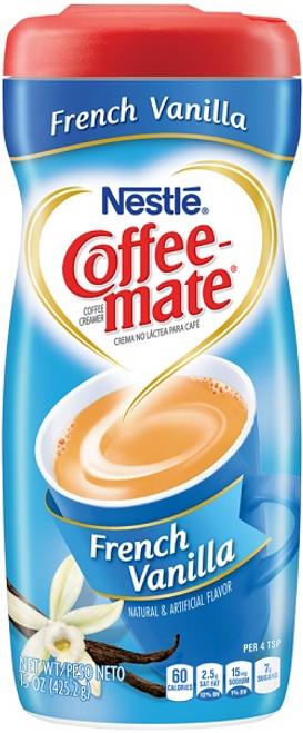 Coffee-mate French Vanilla Powder Cream 15oz Can