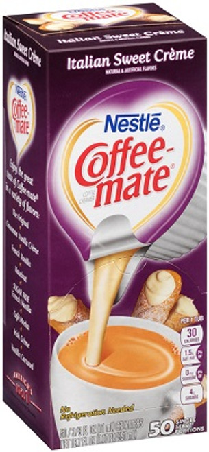Coffee-Mate Italian Sweet Creme Cups - 50ct