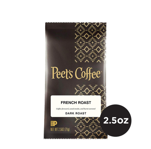 Peet's French Roast 2.5 oz Ground