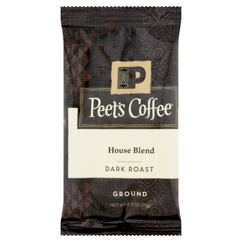Peet's House Blend 2.5 oz Ground