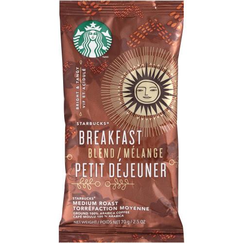 Starbucks Breakfast Blend 2.5 oz Ground