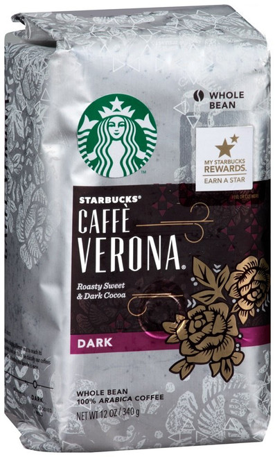 Starbucks Cafe' Verona Whole Bean