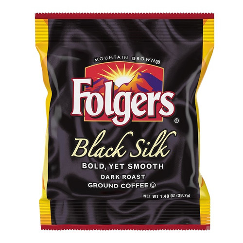 Folgers Black Silk Ground Coffee Pack