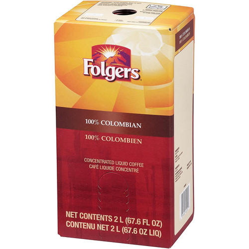 Folgers Columbian 100% 2 Liter Liquid Coffee