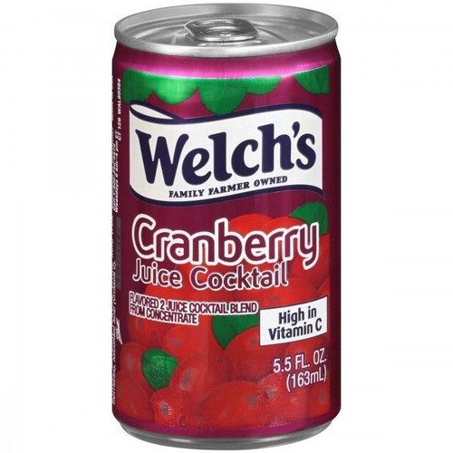 Cranberry Juice 6 oz Cans