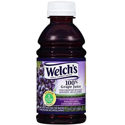 Grape Juice 10 oz Bottles