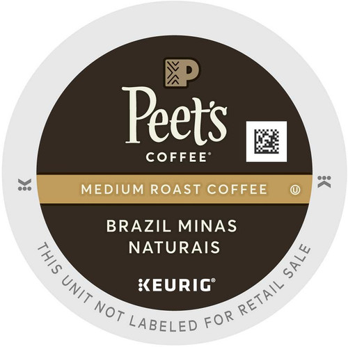 Peet's Brazil Minas Naturais K-Cups