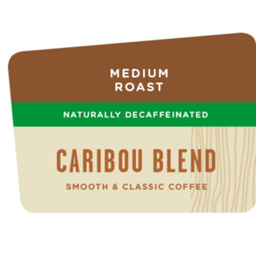 Caribou Blend DECAF 2.5 oz Ground