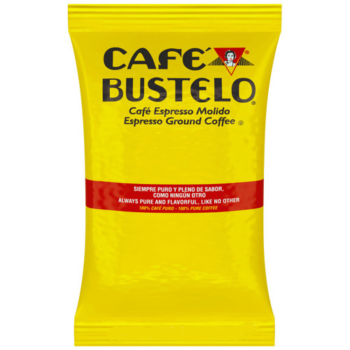 Cafe Bustelo 2oz Ground Coffee/Espresso Packets